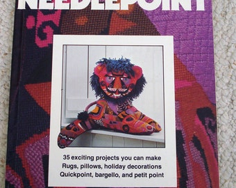 Needlepoint, Better Homes and Gardens Hardback Book - Basics and then some