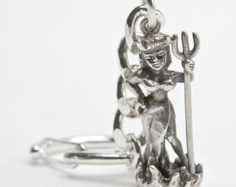 Devil Doll key chain