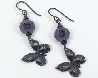 Wings & Petals Earrings