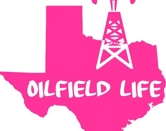 Digi-tizers Oilfield life Texas cut file
