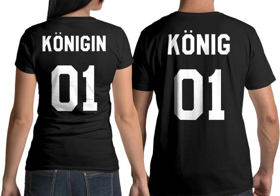König Königin t shirts, königin tshirt, Paare Shirt, King and Queen shirts, Pärchen T-shirt, Shirts für Paare, Hemden für Paare, König shirt