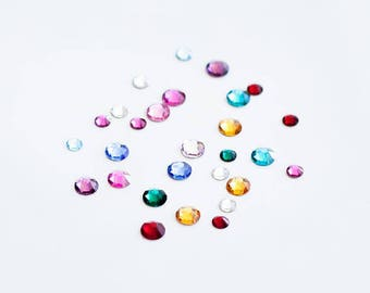 ADD ON birthstones swarovski  birthstone charm  / 001
