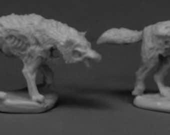 Dread Wolves (2) - 77533 - Reaper Miniatures