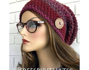 Chapeau d'hiver pour femmes, rose rouge d'hiver chapeau, tuque trapu, les adolescents Tuque, tuque pour bébé, cadeau pour les femmes et les adolescents