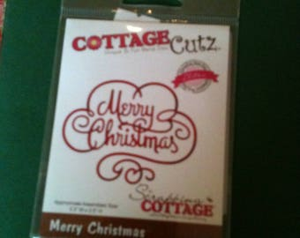 Cottage Cutz Merry Christmas