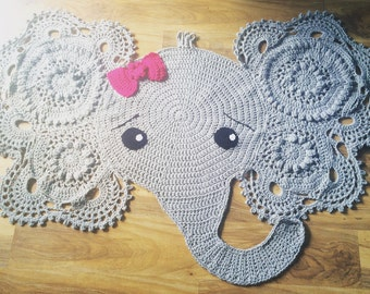 Elephant rug (made to order)