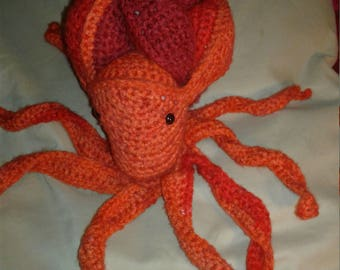 Amish Puzzle ball octopus