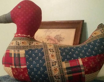 Vintage Fabric Duck Doll