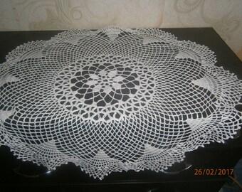 doily crochet 100% linen