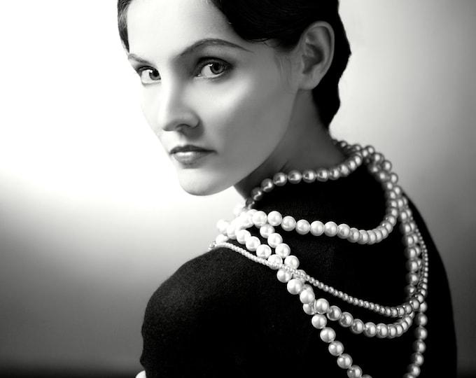 Coco Chanel French Fashion Designer - 5X7, 8X10 or 11X14 Publicity Photo (EP-332)