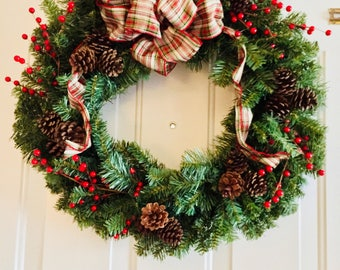 Old Fashioned Christmas Wreath