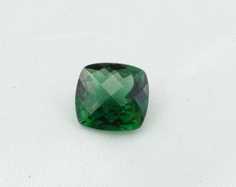 RARE!!  Large 7.61 Carat GIA Certified Chrome Green Tourmaline  #GIACHROME