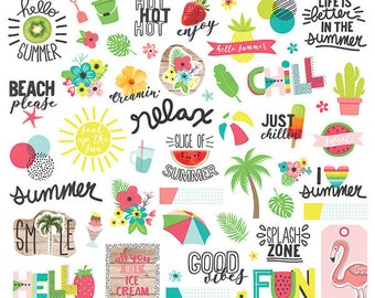 NEW! Hello Summer Bits & Pieces from Simple Stories