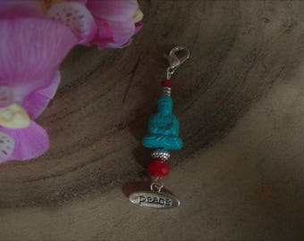 Luck Buddha key or necklace pendant