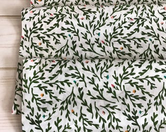 Sweetbriar Green ~ Gather Collection by Juliet Meeks for Cloud9 Fabrics 100% Organic Cotton