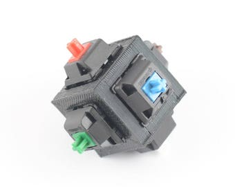 Mechanical Keyboard Fidget Switch Cube - Cherry MX Switches