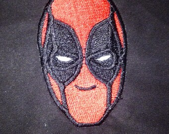 Deadpool Mask Patch