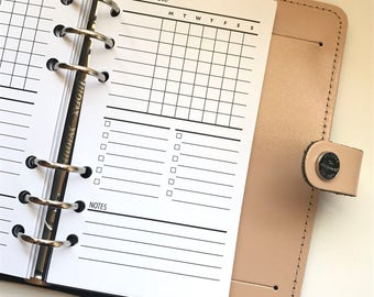 Weekly Checklist - Task Tracker Planner Inserts - WO1P - 2WO2P - Sleek Collection - Style 2