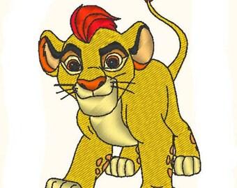 Kion (la Garde du Roi Lion) - motif de broderie