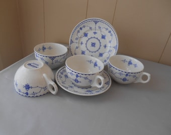 Furnivals and Franciscan Cups and Saucers  Denver pattern.