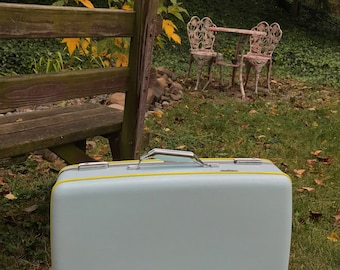 Vintage American Tourister Suitcase - Painted & Reupholstered