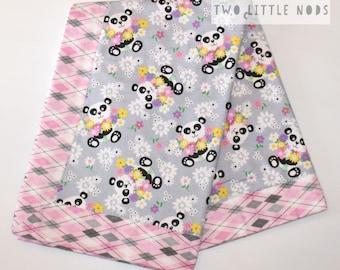Baby Blanket / Flannel Blanket / Baby Shower Gift / Swaddle Blanket / Baby Receiving Blanket / Pram Blanket / Cot Blanket