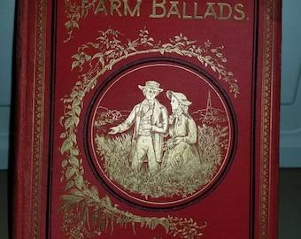 Farm Ballads, William Carleton, Beautiful Illustrations