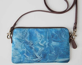 Arctic Blue Clutch