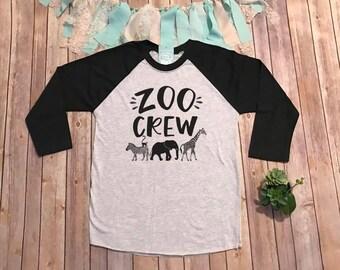 Zoo Animal T Shirt Etsy