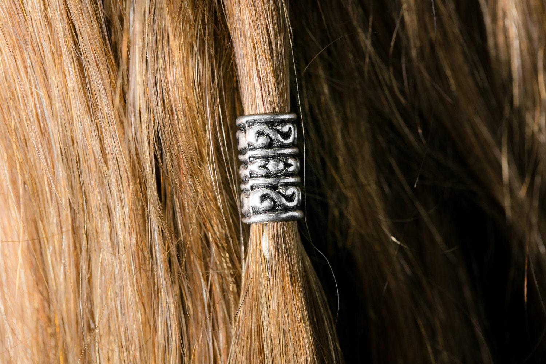 Bart-Bead-Kit \'Durn\' tibetischen Legierung Bart Ringe