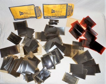 Large Lot of Old Negatives-Photographic Images-Transparencies-Family-Vacation-Military-Cars-Woman-Men-Children-Orphaned Treasure-P041218S