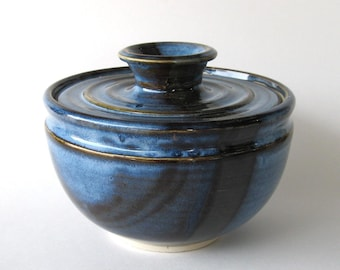 Coffee Filter Storage Jar - Pacifica Blue Glaze