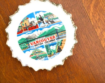 Vancouver, British Columbia Wall Decor Plate