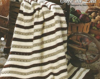 One-piece classics, Crochet pattern leaflet, 'Cafe au Lait'