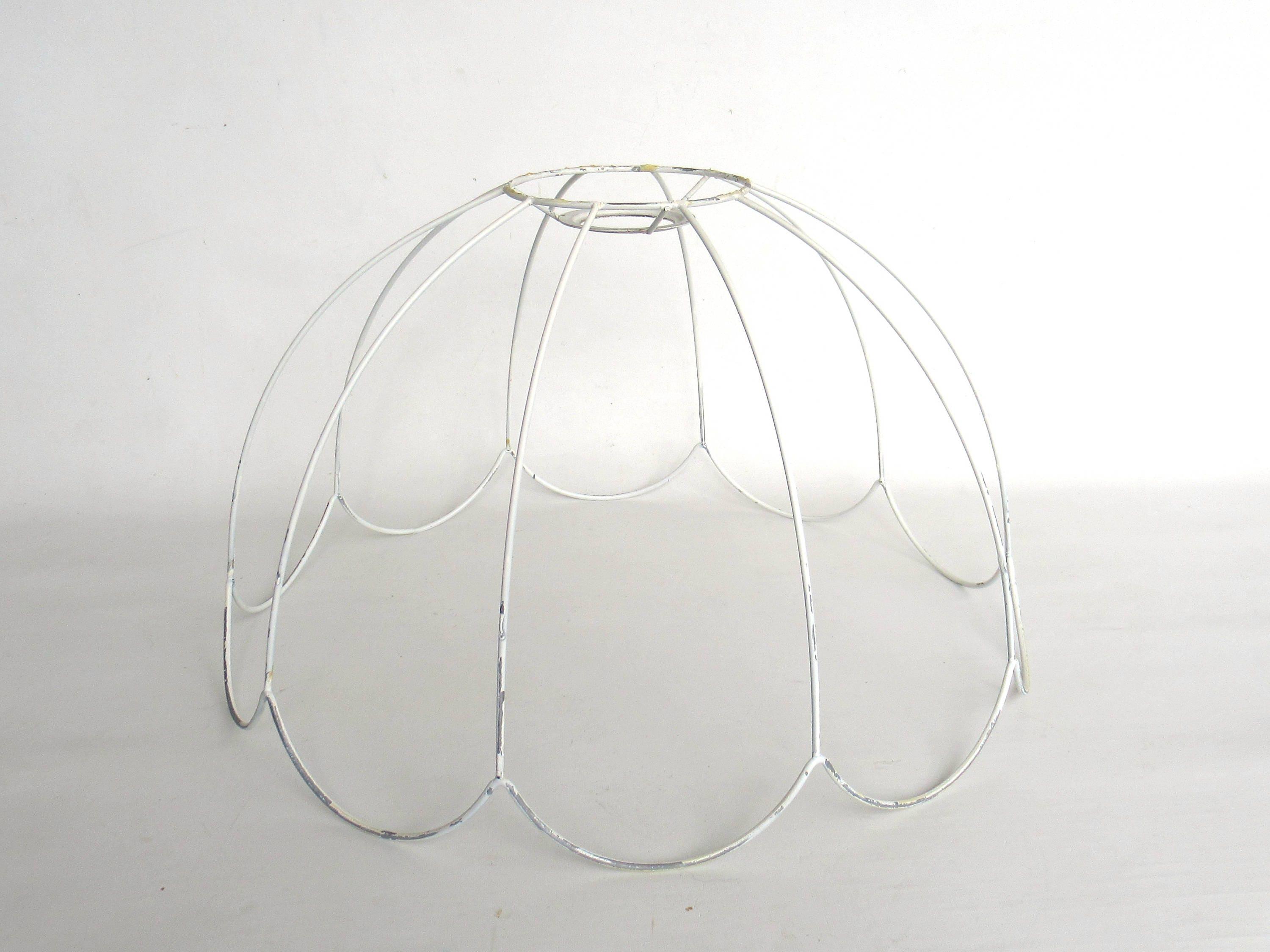 Lampshade frame wire frame authentic vintage lampshade wire frame lampshade frame wire frame authentic vintage lampshade wire frame lampshade frame pendant 6a8gfak31 greentooth Image collections