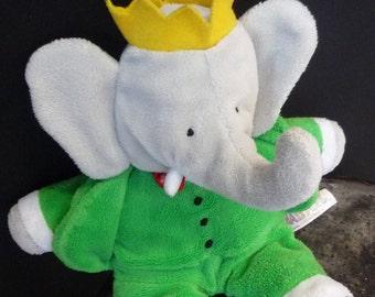 Plush soft Babar - Babar soft toy