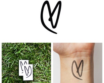 One Way - Temporary Tattoo (Set of 2)