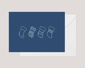 Printable Christmas Card   Greeting Card   Holiday Card     Xmas Card   A2 Card   Minimilist Christmas Card   Cute Christmas Card