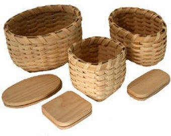 Snack Trio Basket Kit
