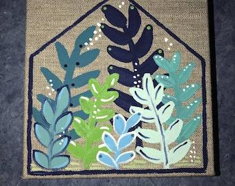 Tiny Linen Greenhouse
