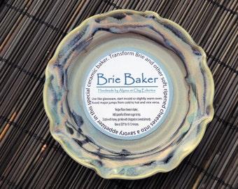 Brie Baker- Ceramic- Opal Blue