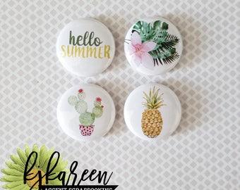"Badge 1 ""- Hello Summer"