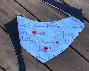 You're My Person - Grey's Anatomy Inspired Bandana - Reversible Pet/Cat/Dog Medical/Grey's/Doctor/Nurse Bandana/Scarf