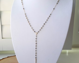 Labradorite Spike Rosary