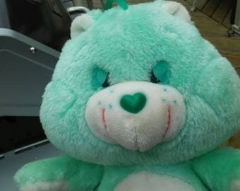 vintage 1983 kenner official care bear sleepy bedtime bear very unique moon and star so cute