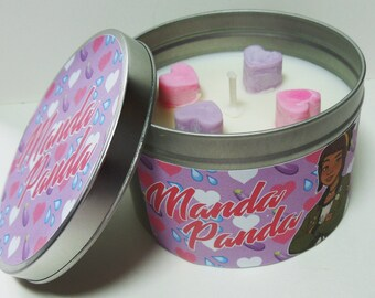 MANDA PANDA: Amanda Ann inspired Dream Daddy candle