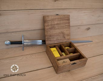Seven Potions - Oak Beard Grooming Kit / Box