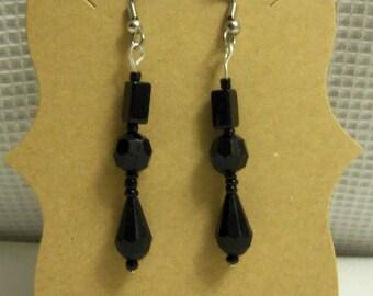 Queen Victoria Glass Bead Earrings
