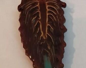 True Blue Sand Pinecone Pendant