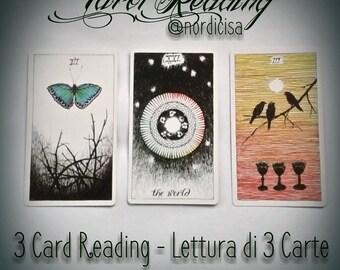 Lettura Tarocchi di 3 Carte - 3 Cards Reading Tarot